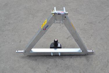 Q-Trekhaak tractor CAT2 / trekbok
