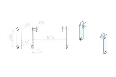 HAKENSET: TEREX TL80-120 SCHAEF 833 853