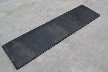 RUBBERMAT STAAL 1.50