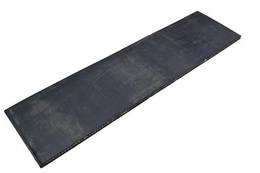 RUBBERMAT STAAL 2.50