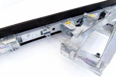 Qmac rubberschuif 270 T-Mech-Schuin+hoek