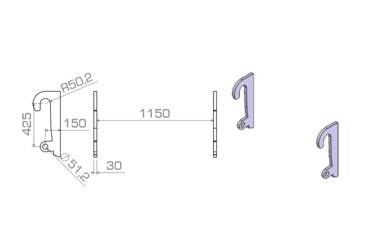 HAKENSET: WERKLUST WG18 T/M WG35