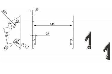 QMAC HAKENSET: SCHAFFER COMPACT DUBBEL