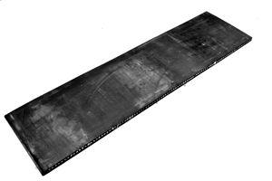Rubbermatten met staalinlaag