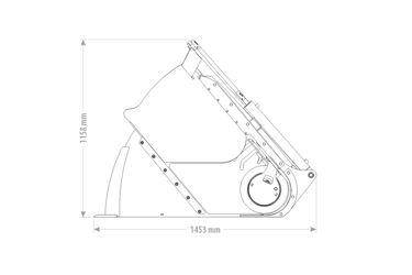 QMAC VOERDOSEERBAK VDS 1.20 - 850L