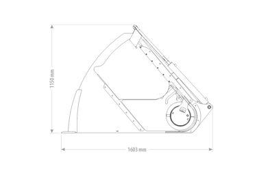 QMAC VOERDOSEERBAK VDV 1.60 - 1460L