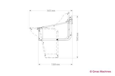 QMAC TREKKER TRANSPORTBOX 200 CAT 1/2