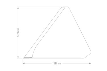 Qmac XL Grondbak 240 Volume - 2210 L