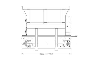Qmac instrooibak USM155 Compact - 1350L