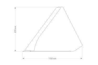 Qmac XL Grondbak 180 HD MINI- 920 L